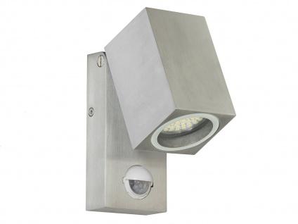LED Außenwandleuchte LORNA mit Bewegungsmelder Dämmerungssensor, Außenlampe