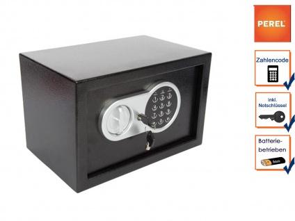 Elektronischer Safe mit Zahlencode, LED & Notschlüssel, Möbeltresor Geldtresor - Vorschau 4