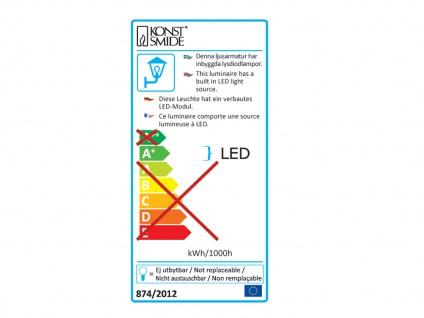2er-Set Up/Down Außenwandleuchte IMOLA, anthrazit, 8W HP-LEDs IP54 - Vorschau 3