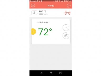 Grillthermometer für Smartphone App, Funk Fleischthermometer Steakthermometer - Vorschau 3