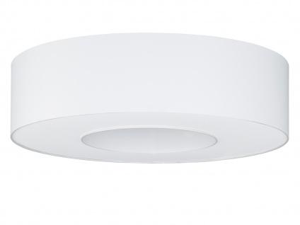 Runde Deckenleuchte Schirm & Abdeckung weiß Ø 65cm Wohnraumleuchten Bürolampe - Vorschau 2