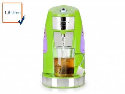 Express 1 Tassen Teekocher 200ml in 45 Sekunden 1, 5 Liter Grün, Wasserkocher