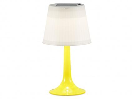 Solar High Power LED-Tischlampe / Tischleuchte ASSISI, gelb Höhe 36 cm - Vorschau 2