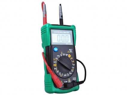 Multimeter Spannungsprüfer Voltmeter Meßgerät AC/DC-Spannung Widerstand