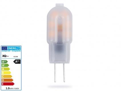 XQ-Lite Niedervolt LED Leuchtmittel 1, 2 Watt warmweiß, Stiftform G4 GU4 / 12V