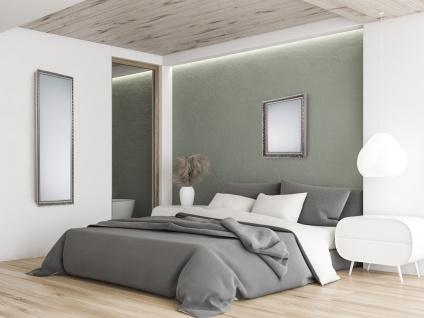 Barock Ganzköperspiegel & Wandspiegel mit Holzrahmen Silber 50x150cm/55x70cm