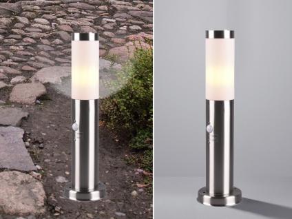 Edelstahl Sockelleuchten mit Bewegungsmelder Stehlampen für draußen Wegeleuchten