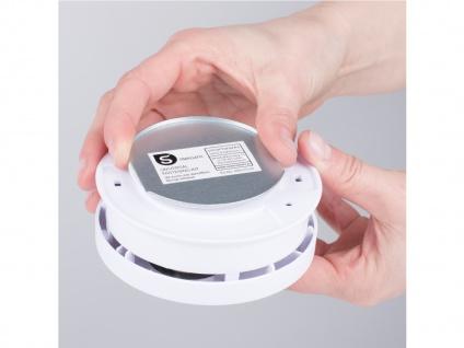 2er Set Rauchmelder 10 Jahre Batterie + Magnethalterung mit VdS & Q-Siegel Brand - Vorschau 5