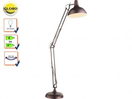 2x Globo Schreibtischlampe FAMOUS blau beweglich Lampe Leuchte Schreibtisch