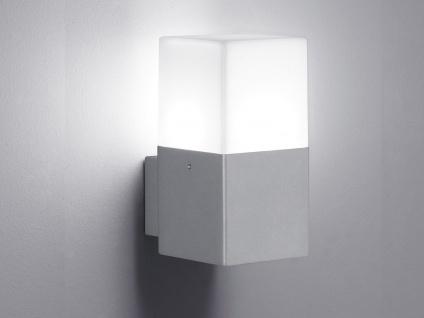 LED Außen-Wandleuchte HUDSON, titan, inkl. E14, 1x4 Watt, IP44, 17cm