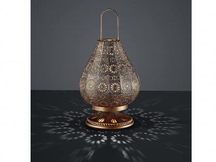 Tischleuchte Orientalisch Marrakesch Marokko Orient Design Kupfer antik