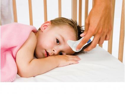 Infrarot Fieberthermometer Stirnthermometer, ideal für Baby & Kind, Wärmemesser - Vorschau 2