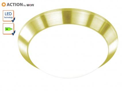 LED Deckenlampe klassisch, 26cm, Messing matt, Action by Wofi