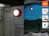LED Leuchte Handlampe magnetisch ø7cm, ideal für Camping, Outdoor, Auto, Boot