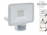 LED Außenstrahler 10Watt mit Bewegungmelder 6 Meter weiß Scheinwerfer Wandfluter