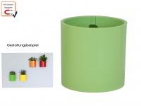 Kunststofftopf mit Magnet Ø 10 cm, Limem, Wandaufbewahrung Wanddeko, KalaMitica