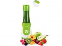 Standmixer Blender Smoothie Maker 250W inkl. 600 ml Trinkflasche Lemon Green