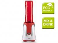 Domo Smoothie Maker, 300 Watt, inkl. 2 Flaschen, Smoothie Stand Mixer Blender