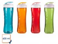 4er Set Ersatzbehälter / Trinkflasche für Smoothie-Maker 600ml, DOMO