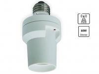 Home Easy Funk-Dimmer für E27-Fassungen, dimmbare Lampen bis 60 Watt