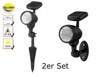 6er set led au enleuchte verwendung mit erdspie oder bodeneinbau ip65 garten kaufen bei. Black Bedroom Furniture Sets. Home Design Ideas