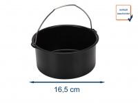 Kuchen Form Ø 16, 5 cm, Zubehör für Heißluftfritteuse Digital Aerofryer 182021