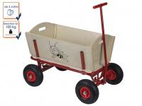 Bollerwagen / Holzbollerwagen für Kinder / -DIE BIENE MAJA-, Velleman