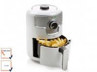 Mini Heißluftfritteuse Deli-Fryer mit 1, 6 Liter Fassungsvermögen und 1000 Watt