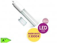LED Röhre T8 G13 10W 60 cm 800 Lm warmweiß inkl. Dummy Starter XQ-lite