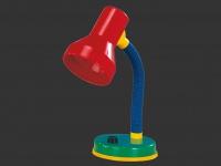 TRIO Klassische Tischleuchte, E27, Höhe max. 30cm, multicolor