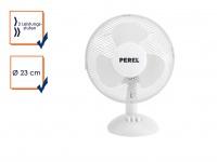 Velleman Tischventilator Ventilator Lüfter Ø23cm oszillierend 20W