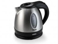Edelstahl Wasserkocher 1, 2ltr, Wassererhitzer Wasser Kocher Teekocher Teewasser