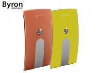 Wechselcover gelb und orange für Byron Funk Türklingeln BY504, BY514E & BY535E
