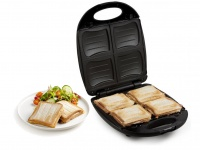 DOMO 4er Amerikan Sandwichmaker Sandwichtoaster Sandwich Sandwichgrill Toaster