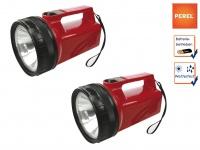 2er Set ultrahelle Krypton Taschenlampen Handlampen wetterfest, Suchscheinwerfer