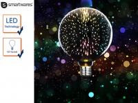 LED Deko Leuchtmittel E27, Stimmungsleuchtmittel 3D-Effekt, Partylicht Dekolicht