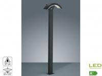 Außenleuchte OHIO schwarz, Bewegungssensor, IP54, Höhe ca. 100cm
