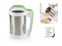 Suppenkocher Thermokocher 1, 7l, 4 Programme, Soupmaker mit Rezeptheft *NEU*