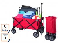 Bollerwagen faltbar/klappbar rot, Handwagen Transportkarre Kinder Transportwagen
