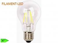 FILAMENT-LED Birne E27, 4 Watt, 450 Lumen, 2700 Kelvin, warmweiß