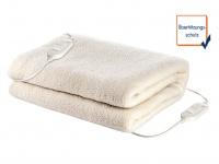 2 Personen Unterdecke aus Wolle, waschbare Heizdecke 160x140cm, Wärmetherapie