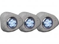 Steinleuchte mit LED und 12V Trafo-Niedervoltspannung Gartenbeleuchtung