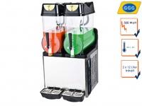 Profi Slush Eis Maschine, 2x 12L, 500W, -2°C / -3°C, Gastro Slushy Maker, GGG