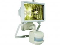 ES120 Halogenstrahler / Flutlicht 120W mit Bewegungsmelder, weiß, IP44