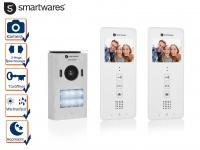 Zweiparteien Video Türsprechanlage, Gegensprechanlage mit Kamera 2 Familienhaus