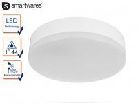 LED Deckenleuchte / Außenleuchte Ø 22cm IP44 Bewegungsmelder Flurleuchte Haus