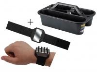 Werkzeugträger aus Kunststoff + Easy Work Magnet - Werkzeug Kiste Koffer Kasten