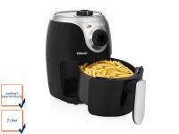 Mini Heißluftfritteuse Crispy Fryer ohne Öl 2 Liter 1000 Watt Leistung Tristar