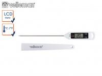 Digitales Einstichthermometer, Grillthermometer Steakthermometer Küche Kochen