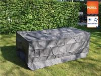 Gartenmöbel Schutzhülle / Abdeckung für Gartentisch max. 140cm, Folie wetterfest